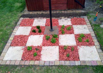 sakk kert árk garden