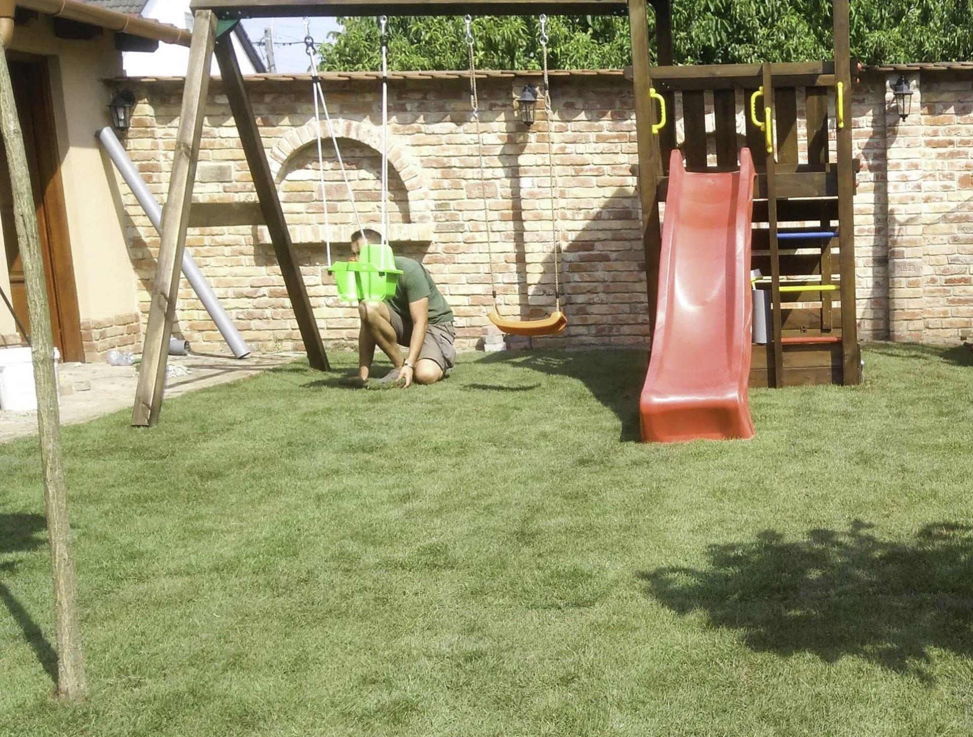füvesítés ark garden